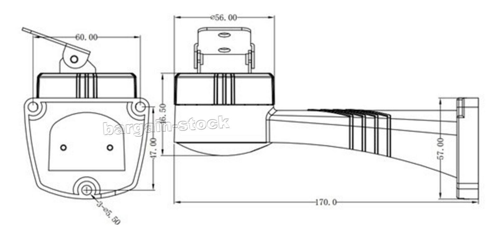hight resolution of ptz motorized rotation bracket holder rs485 pelco d control for cctv camera