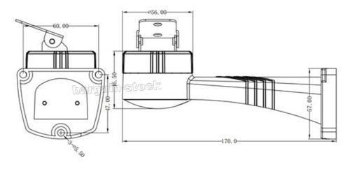 small resolution of ptz motorized rotation bracket holder rs485 pelco d control for cctv camera