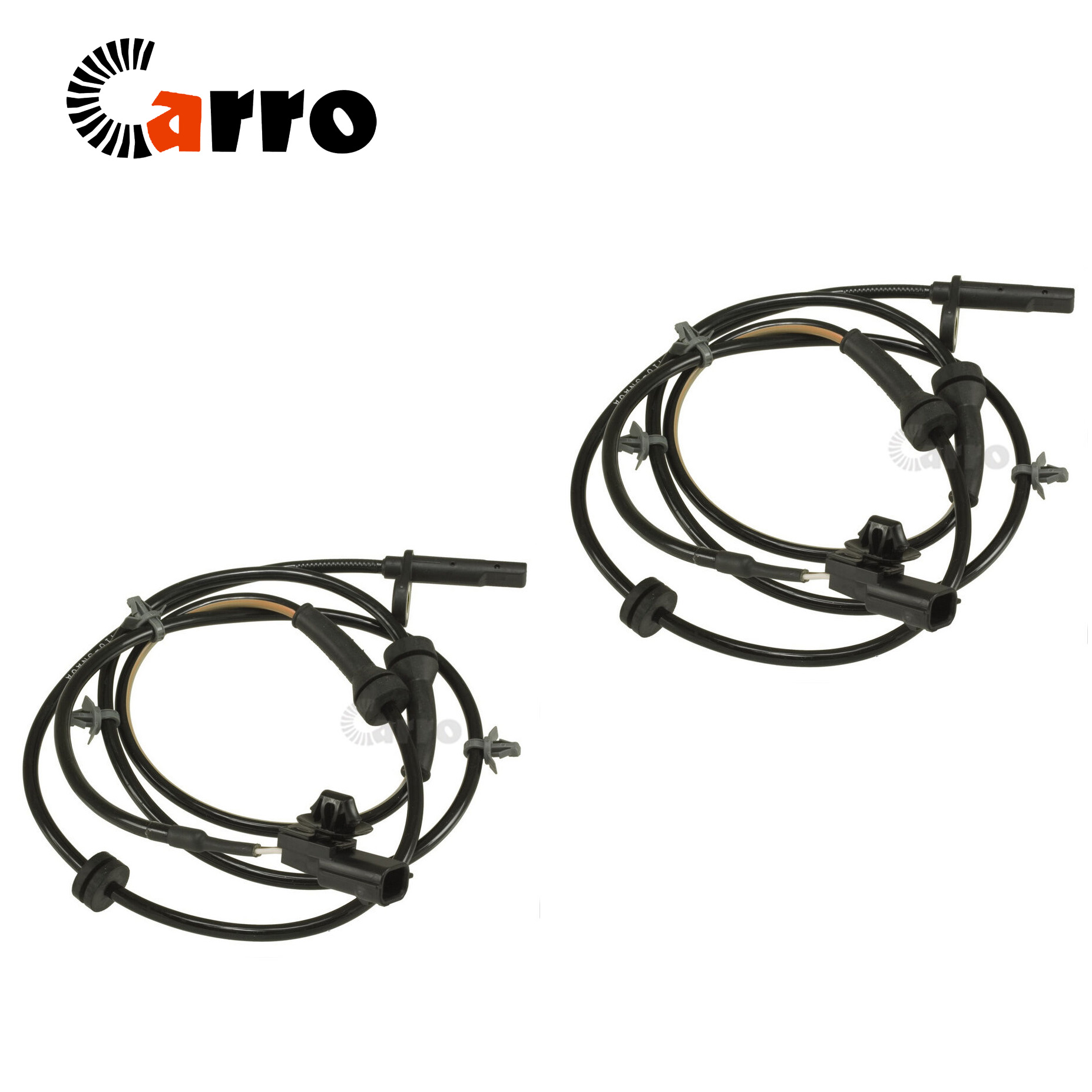Set of 2 New ABS Wheel Speed Sensor Front Left & Right For