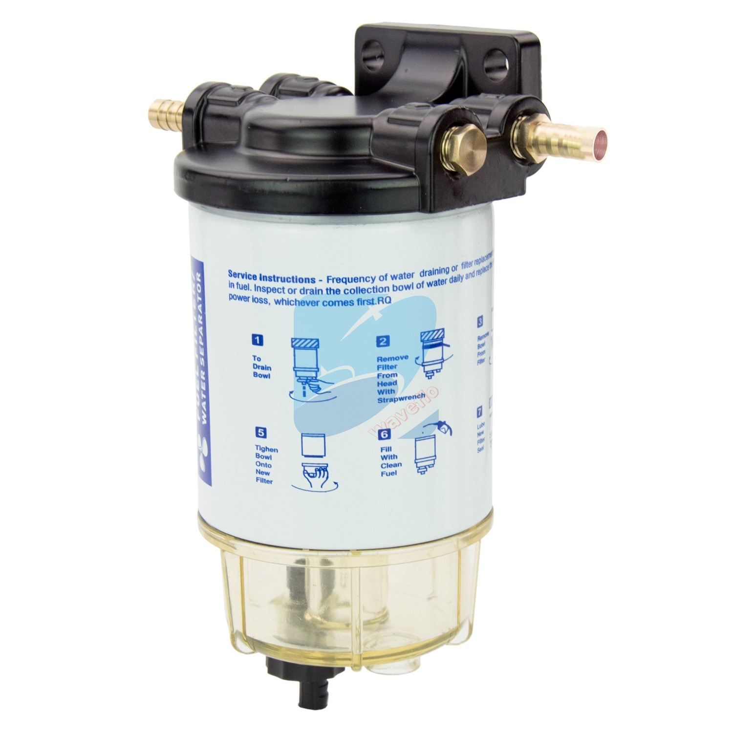 hight resolution of details about boat fuel filter marine fuel water separator mercury yamaha outboard 10 micron
