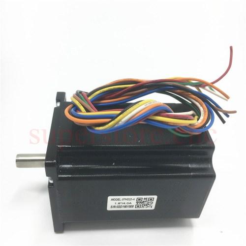small resolution of stepper motor leadshine 2 phase 57hs nema23 series 57hs22 a unipolar cnc wiring diagram leadshine cnc wiring