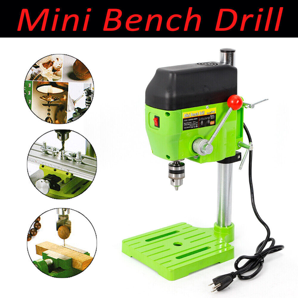 medium resolution of details about 480w electric bench drill press stand mini drilling machine drill chuck 10mm usa