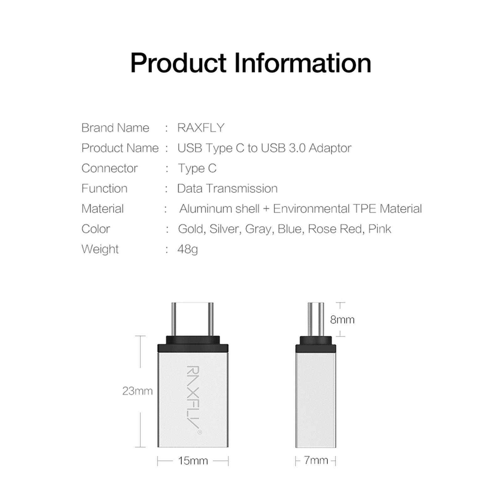Usb 3 1 Type C Male To Usb 3 0 Type A Female Charger