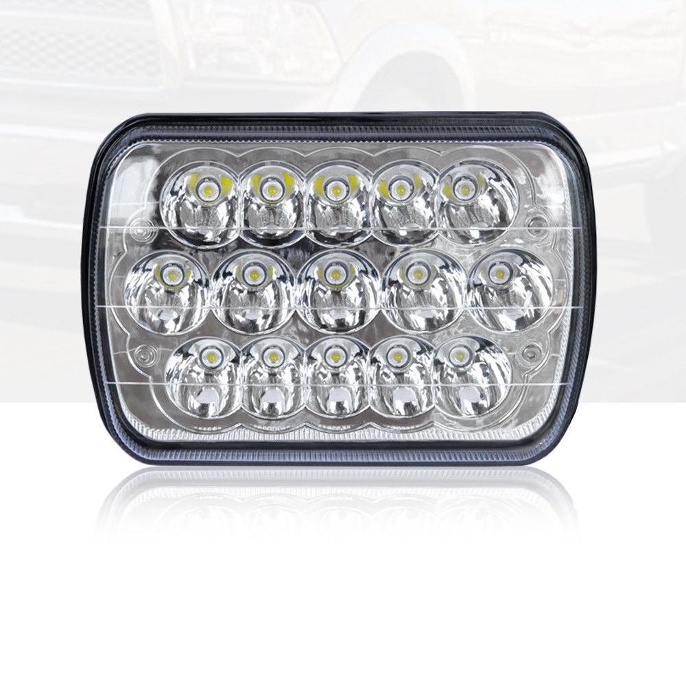 hight resolution of 7x6 led headlight upgrade for ford super duty truck f550 f600 f650 f700 f750
