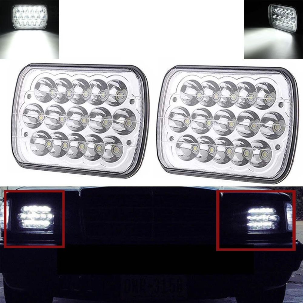 medium resolution of 7x6 led headlight upgrade for ford super duty truck f550 f600 f650 f700 f750