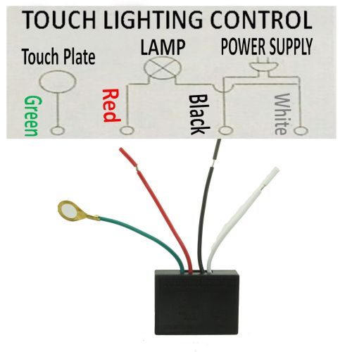 small resolution of 110v touch light lamp dimmer switch control module sensor halogen tungsten led