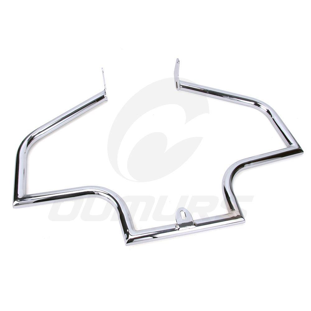 Chrome Engine Guard Crash Bar For Harley FLSTN Softail