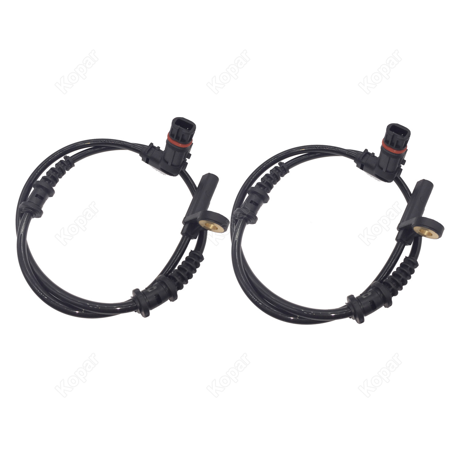 2PCS Front ABS Speed Sensor For Mercedes-Benz CLK320 C230