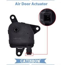 604 002 hvac heater air blend door actuator for dodge ram durango chrysler aspen [ 1001 x 1001 Pixel ]