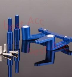steering assembly aluminum 4943for classic 15 2 5 e maxx traxxas tmaxx 4910 rc [ 1200 x 1200 Pixel ]