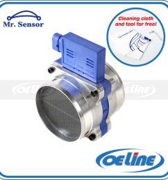 details about fits chevrolet gmc 4 3l 5 0l 5 7l v8 mass air flow sensor meter 25008307 [ 1600 x 1600 Pixel ]