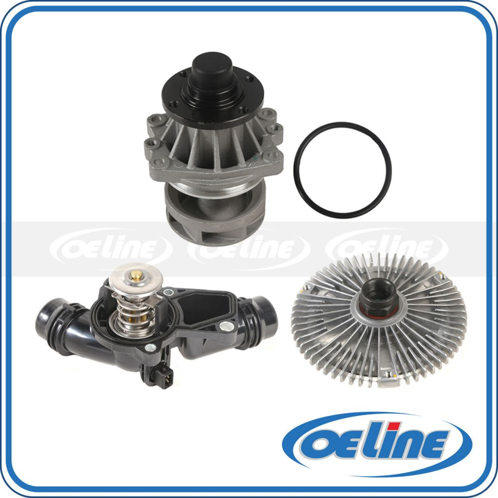 medium resolution of details about fit 99 06 bmw 3 series x5 2 5 3 0 water pump fan clutch thermostat assembly kit