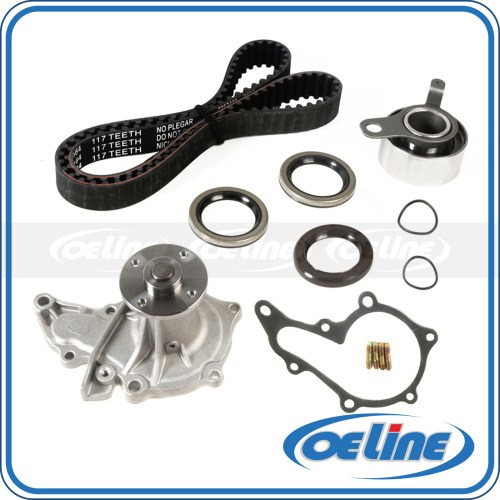 small resolution of details about fit 93 97 toyota corolla geo prizm 1 6l dohc timing belt kit water pump 4afe
