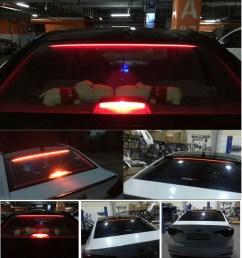 waterproof 36 led car rear windshield roofline third high brake tail light strip [ 910 x 873 Pixel ]