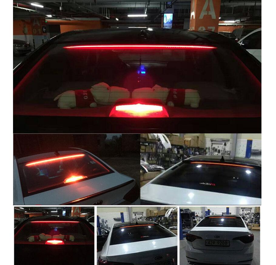 hight resolution of waterproof 36 led car rear windshield roofline third high brake tail light strip