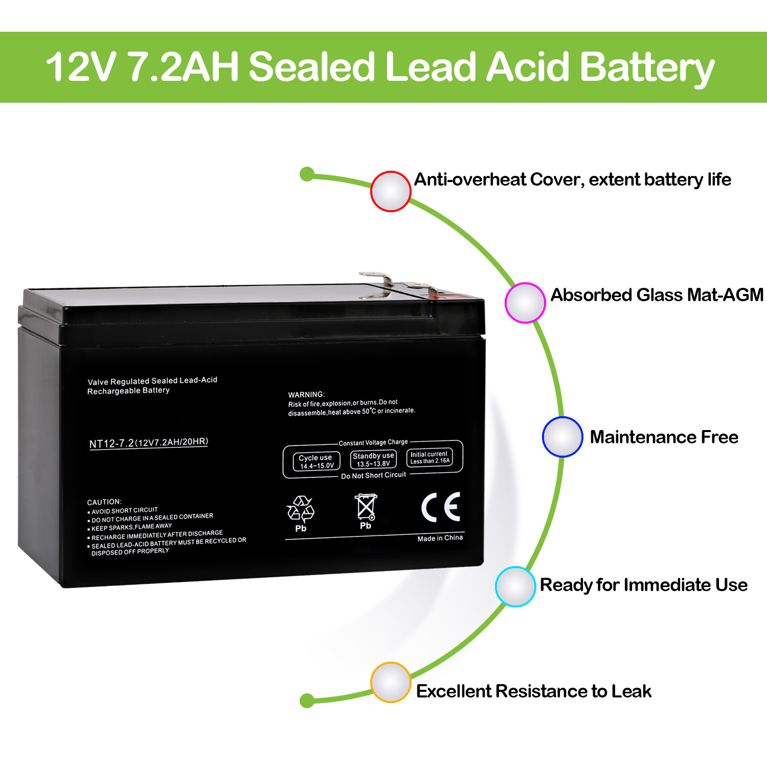 hight resolution of 12v 7 2ah ups battery replacement apc back ups xs xs1000 bx1000 brand product