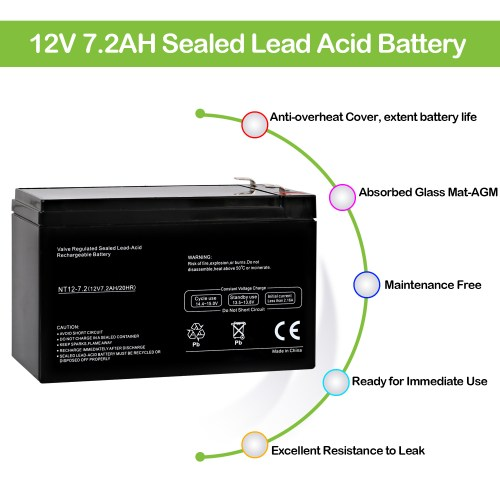 small resolution of 12v 7 2ah ups battery replacement apc back ups xs xs1000 bx1000 brand product