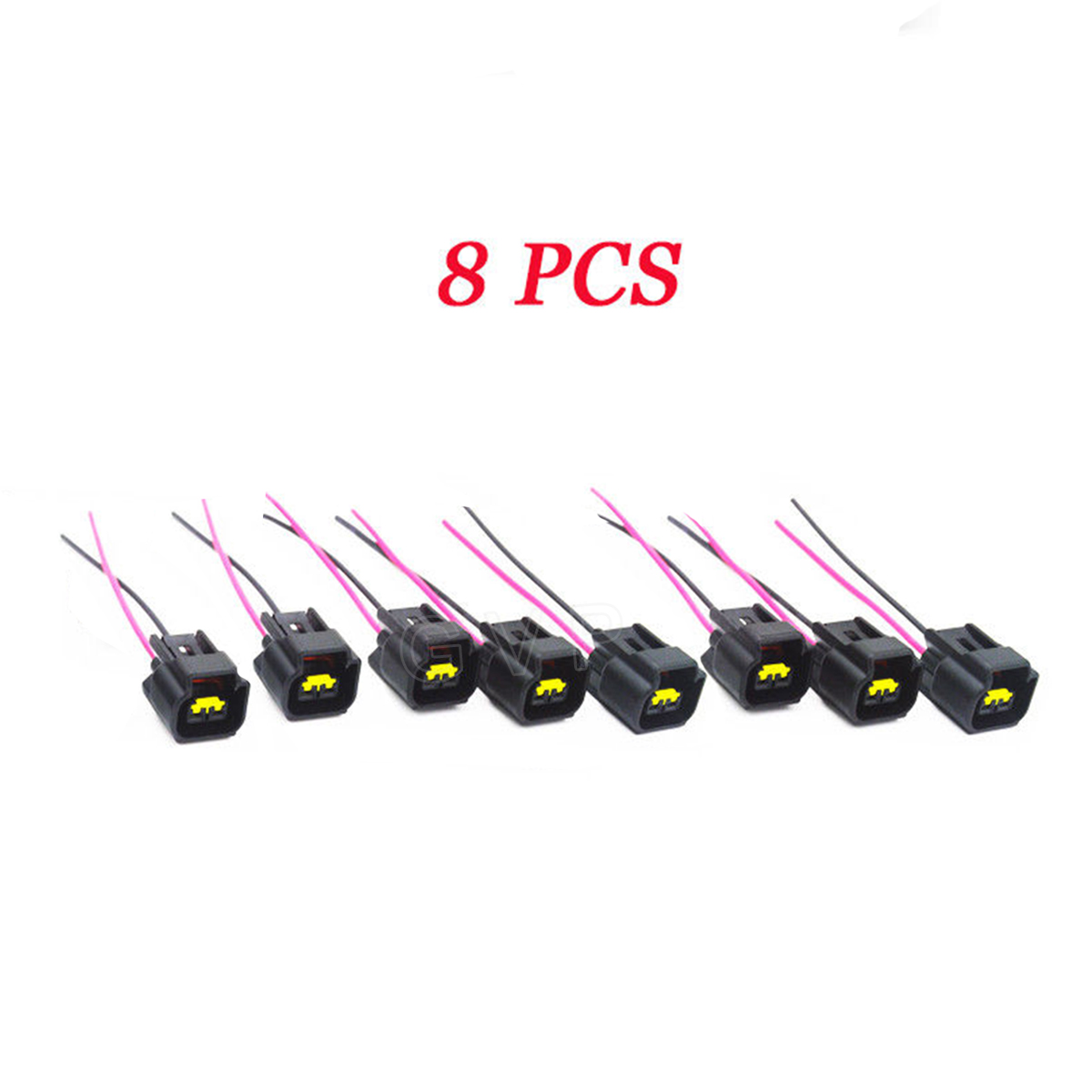 8x Car Ignition Coil Connector Modular Pigtail Plug Wire