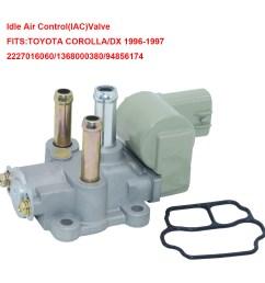 1pcs oem idle air control valve 22270 16060 for geo prizm toyota celica corolla [ 1200 x 1200 Pixel ]