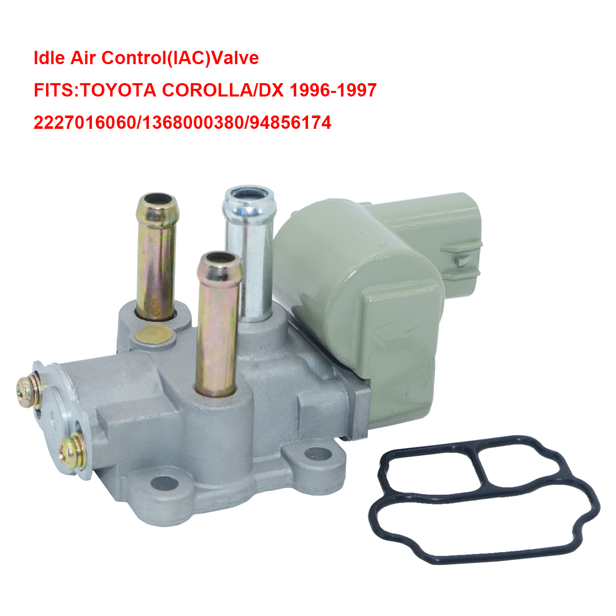 hight resolution of 1pcs oem idle air control valve 22270 16060 for geo prizm toyota celica corolla