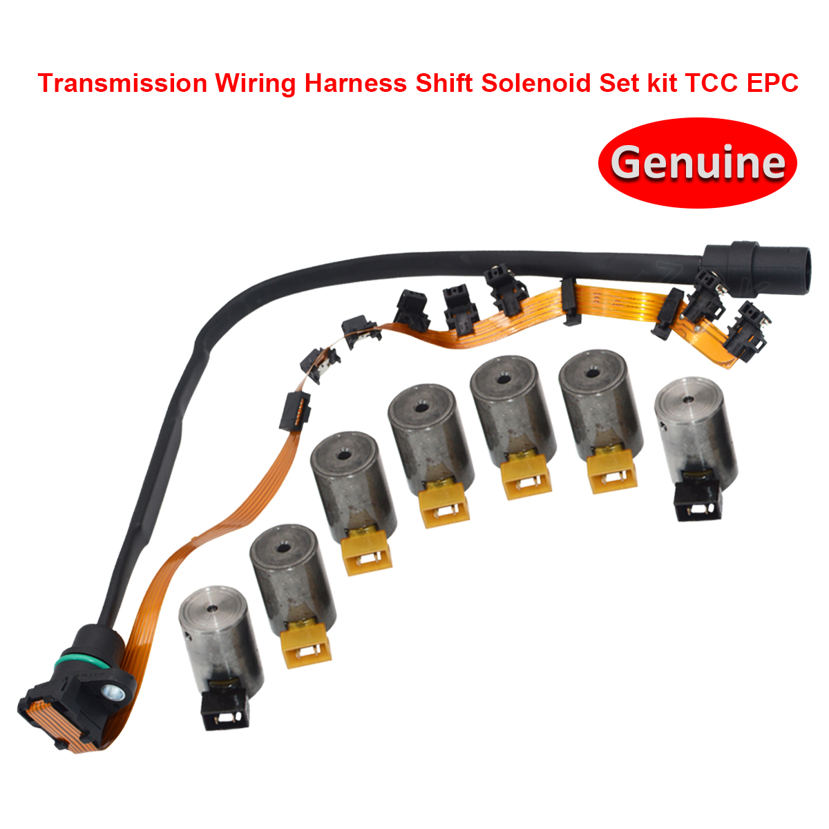 hight resolution of details about oem 096 01m 01m927365 auto transmission shift solenoid set harness for vw audi