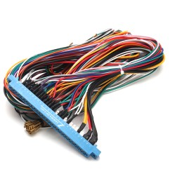 28 pin jamma harness wire wiring loom for arcade game pcb video game [ 1200 x 1200 Pixel ]