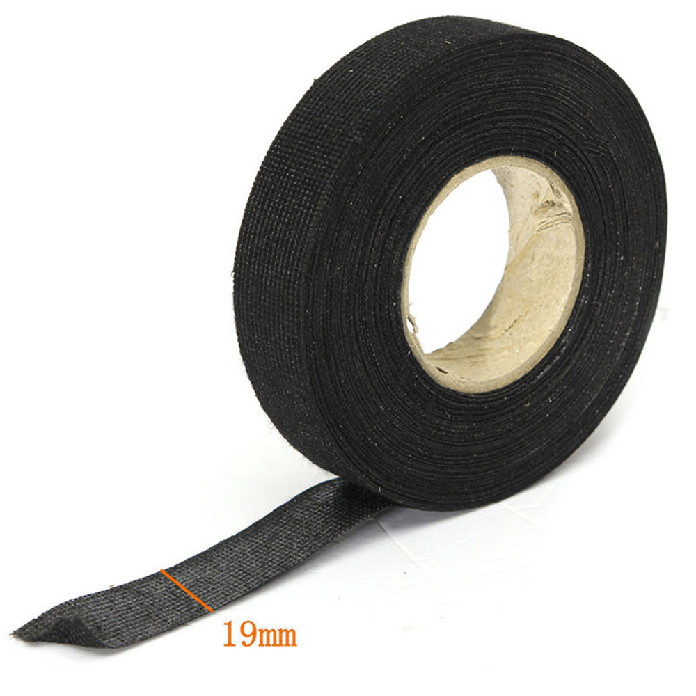 medium resolution of  4pcs 19mm x 25m adhesive cloth fabric tape cable car auto looms wiring harness
