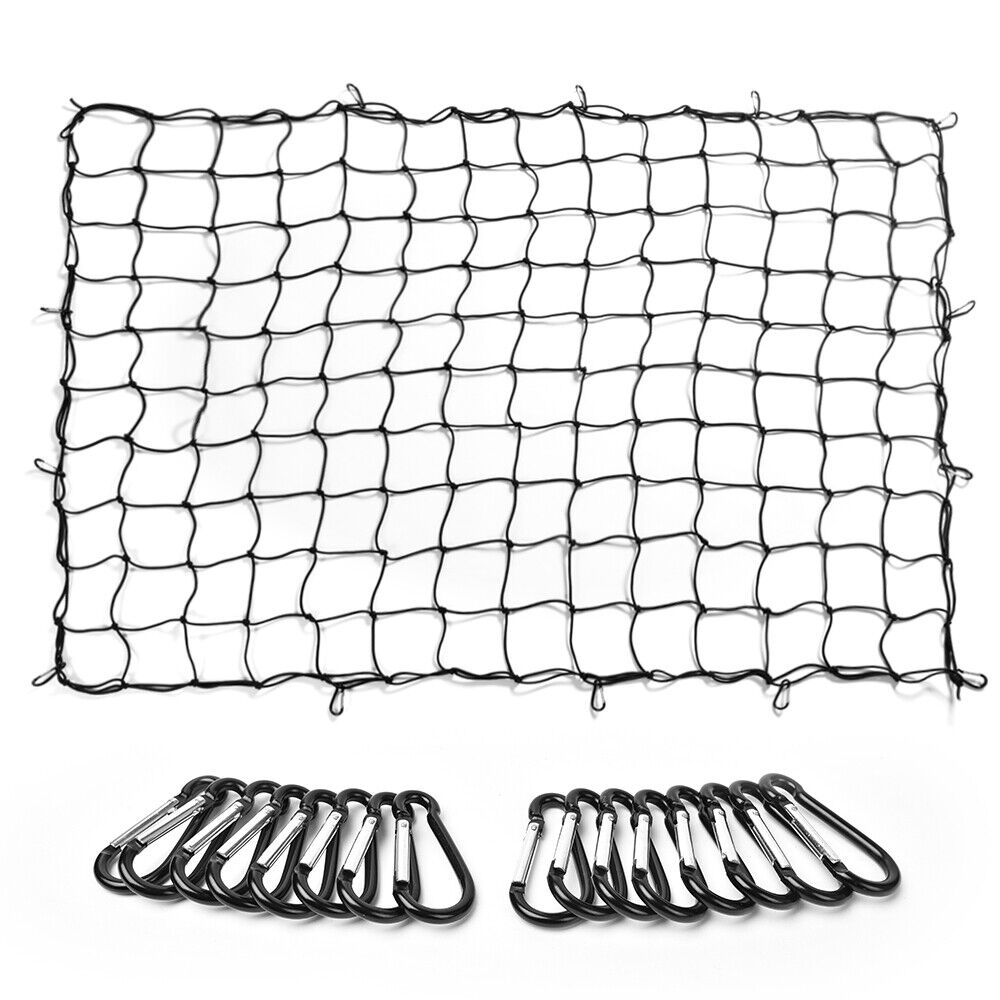 MICTUNING Heavy Duty Bungee Cargo Net for Loads Tighter