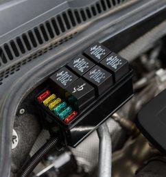 automotive car fuse relay holder 12 slot relay box 6 relays 6 atc ato fuses auto [ 1000 x 1000 Pixel ]