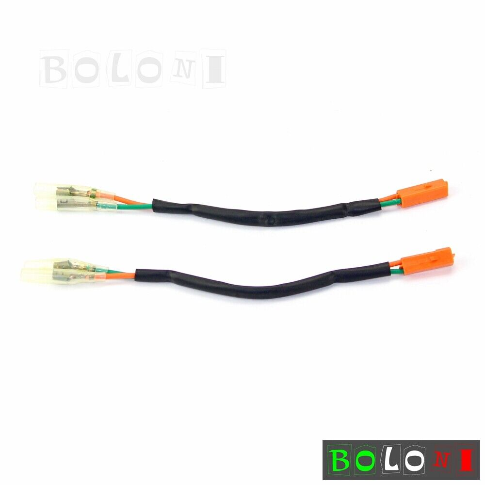hight resolution of 2x wire oem turn signal adapter plug wiring harness connectors for yamaha yzf r6