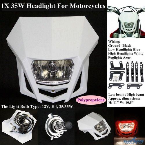 small resolution of motocross dirt bike headlight head lamp fairing for honda suzuki yamaha kawasaki
