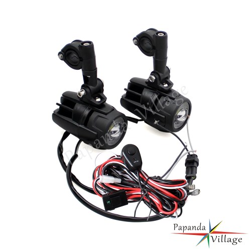 small resolution of led auxiliary fog lights 40a wiring harness switch for bmw motorcycle r1200gs
