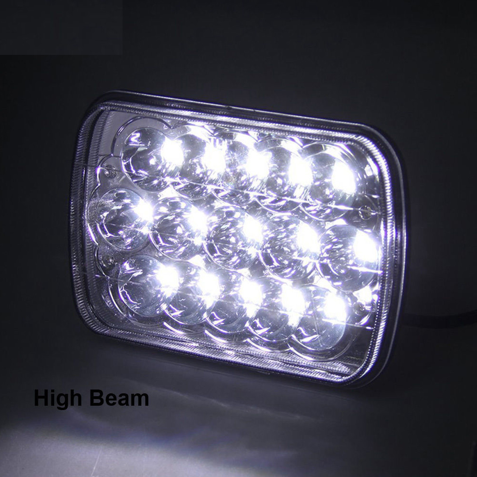 hight resolution of 7x6 5x7 led headlight 2x for ford super duty truck f550 f600 f650 f700 f750