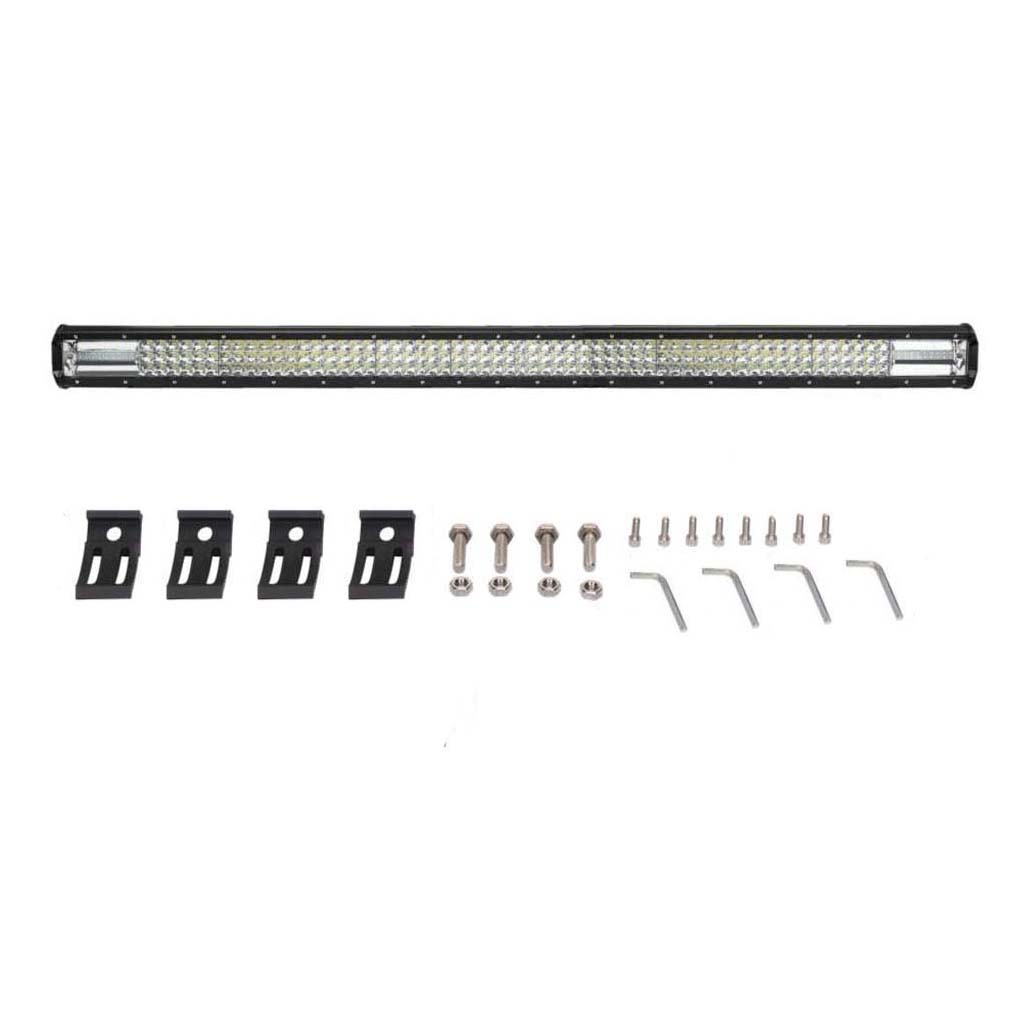 Tri Row 7d 44inch W Led Work Light Bar Spot Pencil Beam