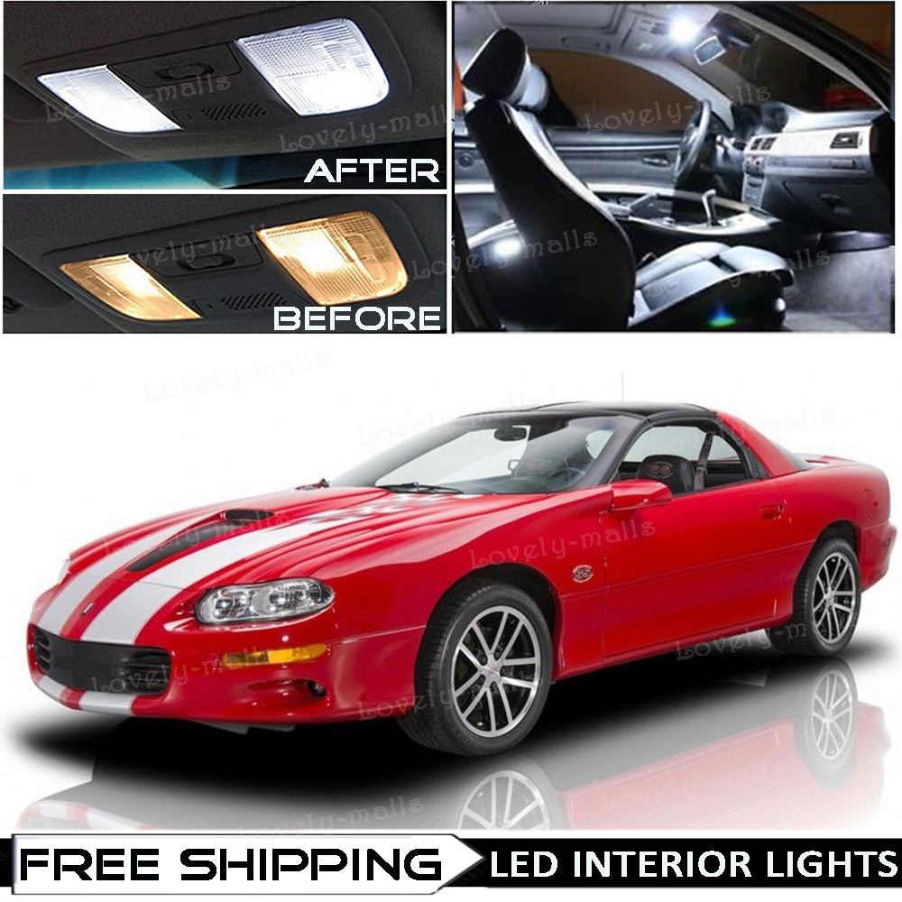hight resolution of 11 x xenon white interior led lights package for 1993 2002 chevy camaro tool o5