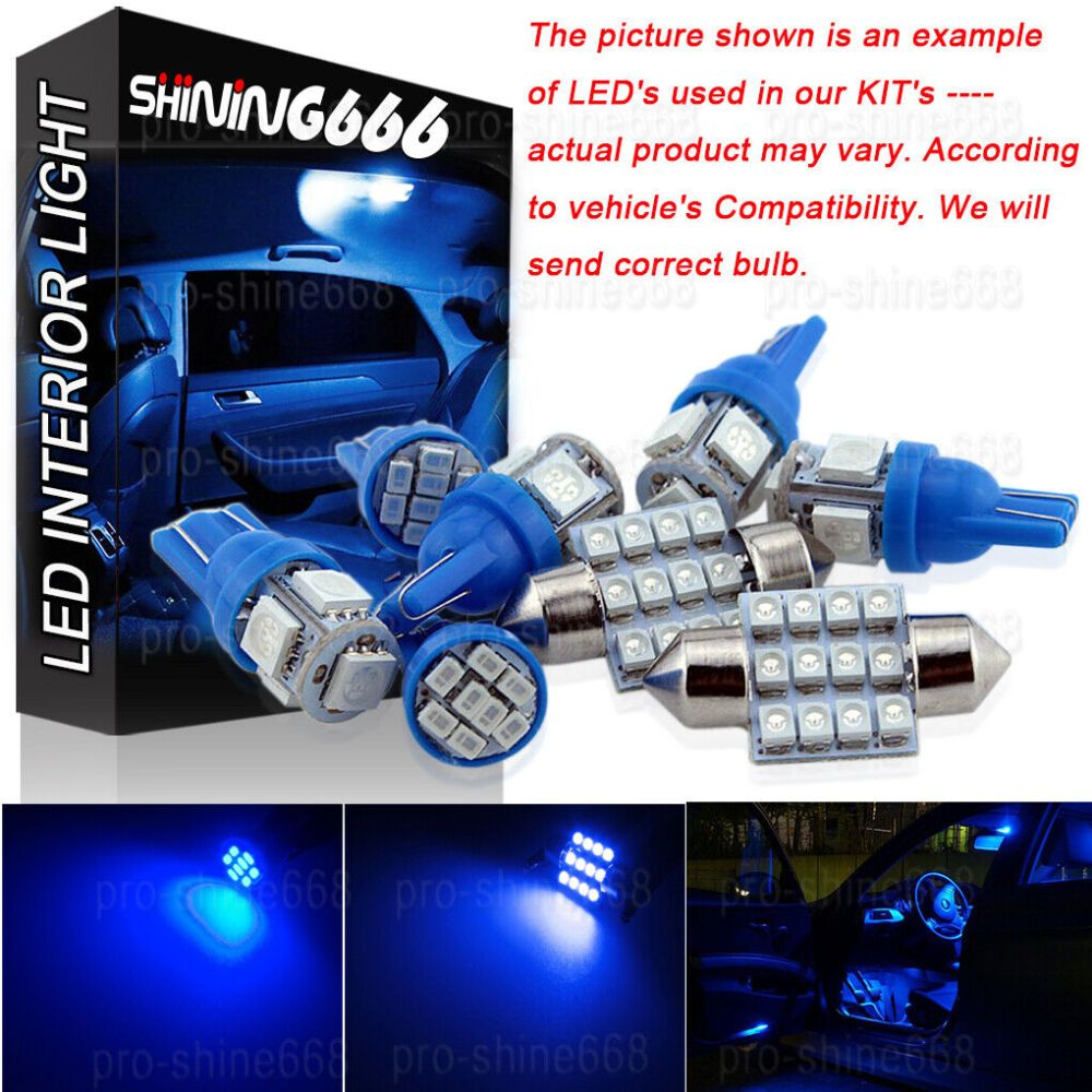 medium resolution of details about interior car led map dome light bulbs kit blue for vauxhall astra h mk5 smd