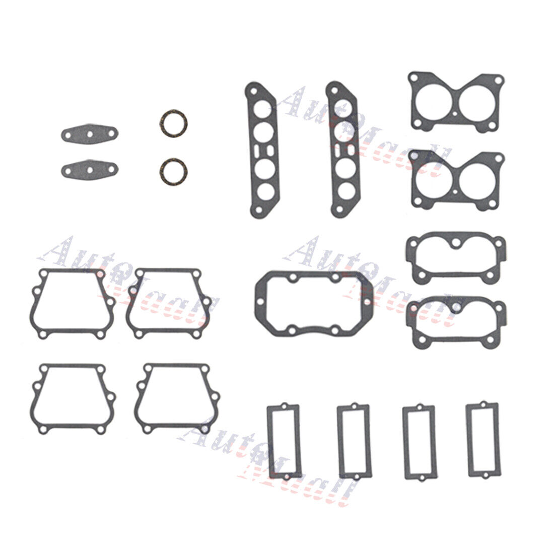 Powerhead Gasket Kit for Johnson Evinrude V4 Crossflow