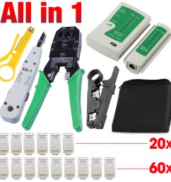 details about network ethernet lan rj11 rj45 cat5 cat6 cable tester wire tracker tool kit [ 1200 x 1200 Pixel ]