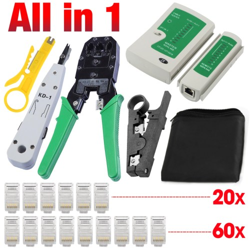 small resolution of details about network ethernet lan rj11 rj45 cat5 cat6 cable tester wire tracker tool kit