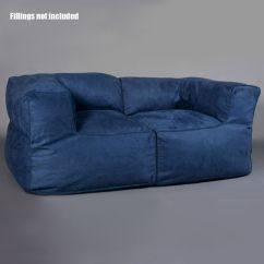 Sofa Cover Storage Bag Arrangements In Living Room Luxury 2 Person Couch Bean Indoor Loveseat