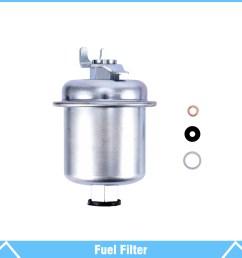 fuel filter for acura rl cl tl integra honda cr v prelude civic 16010 st5 931 [ 1001 x 1001 Pixel ]