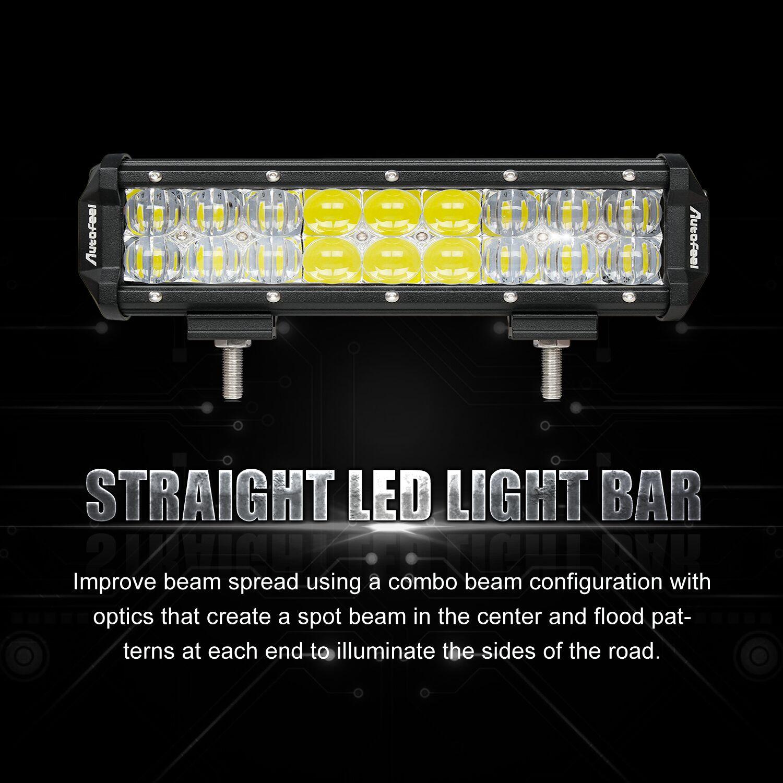 hight resolution of 216w 9inch led work light bar spot flood combo beam driving suv wiring harness