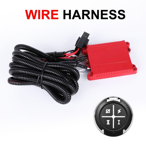 small resolution of details about 12v 40a led work light bar wiring harness for led light bar dual color 12v