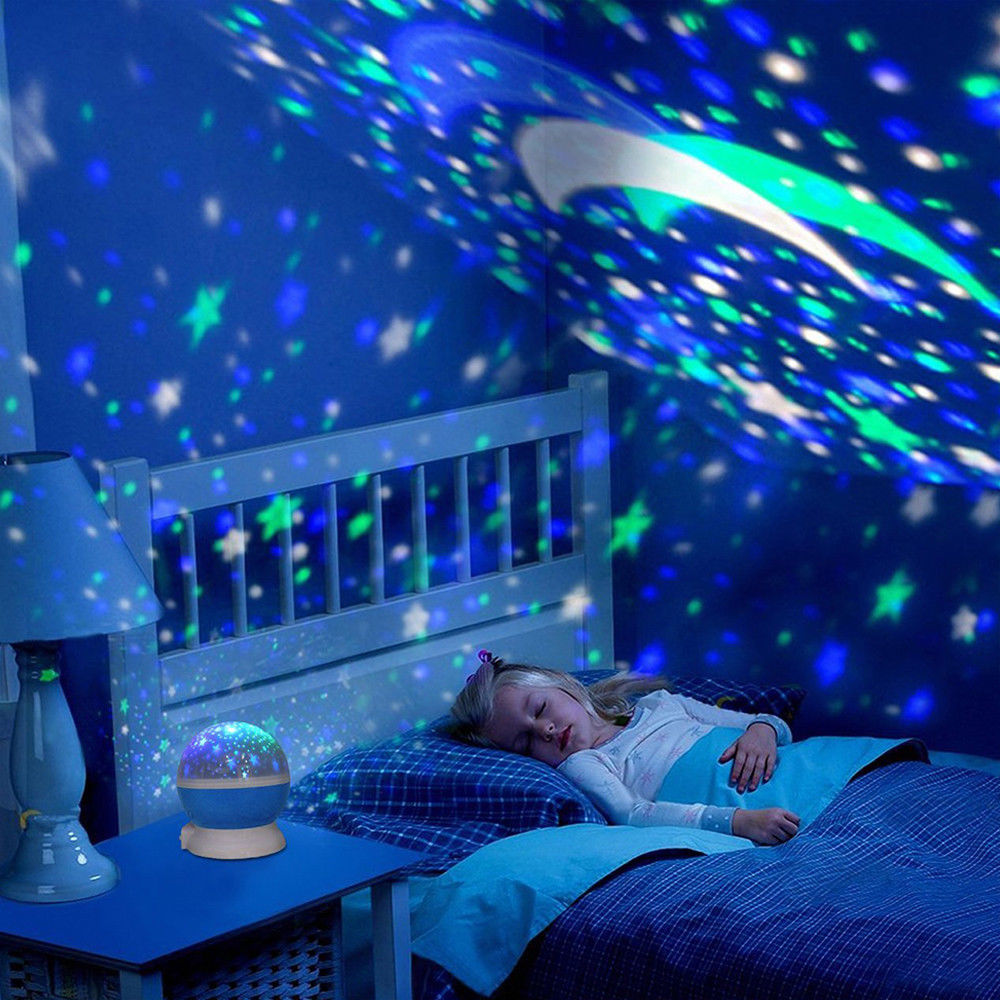 Projector Night Light Led Star Master Sky Lamp Romantic Cosmos Rotating Gift Hm Ebay