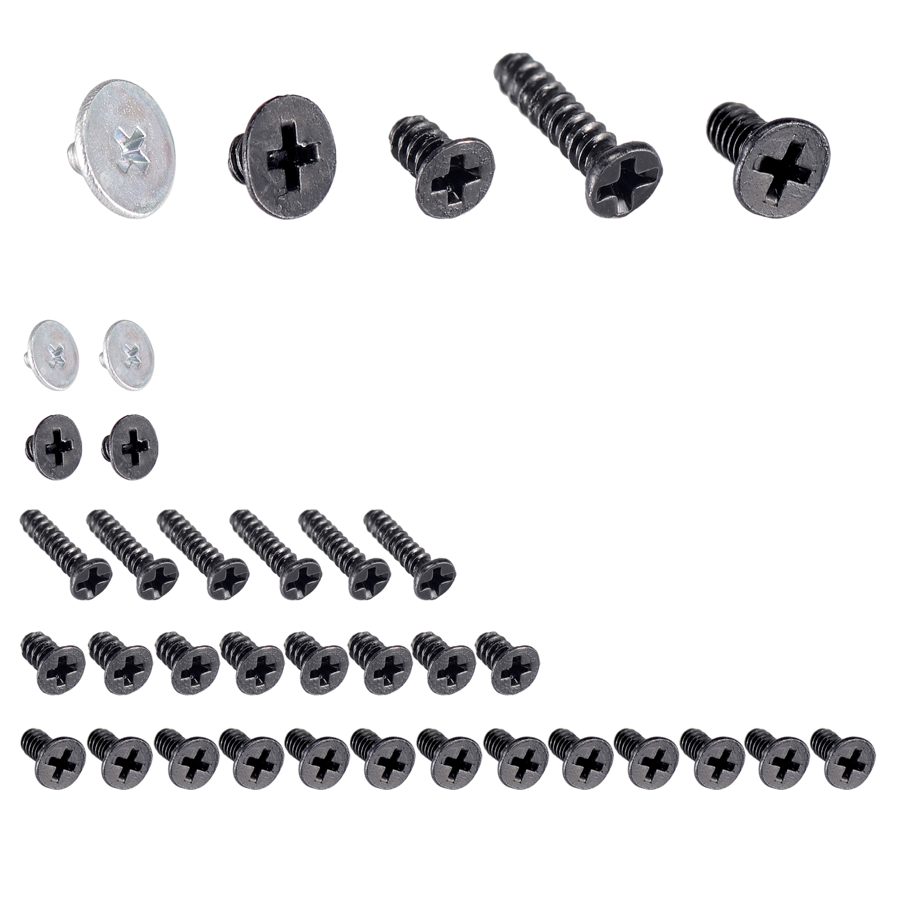 Replacement Full Set Screw Screws Springs For Nintendo
