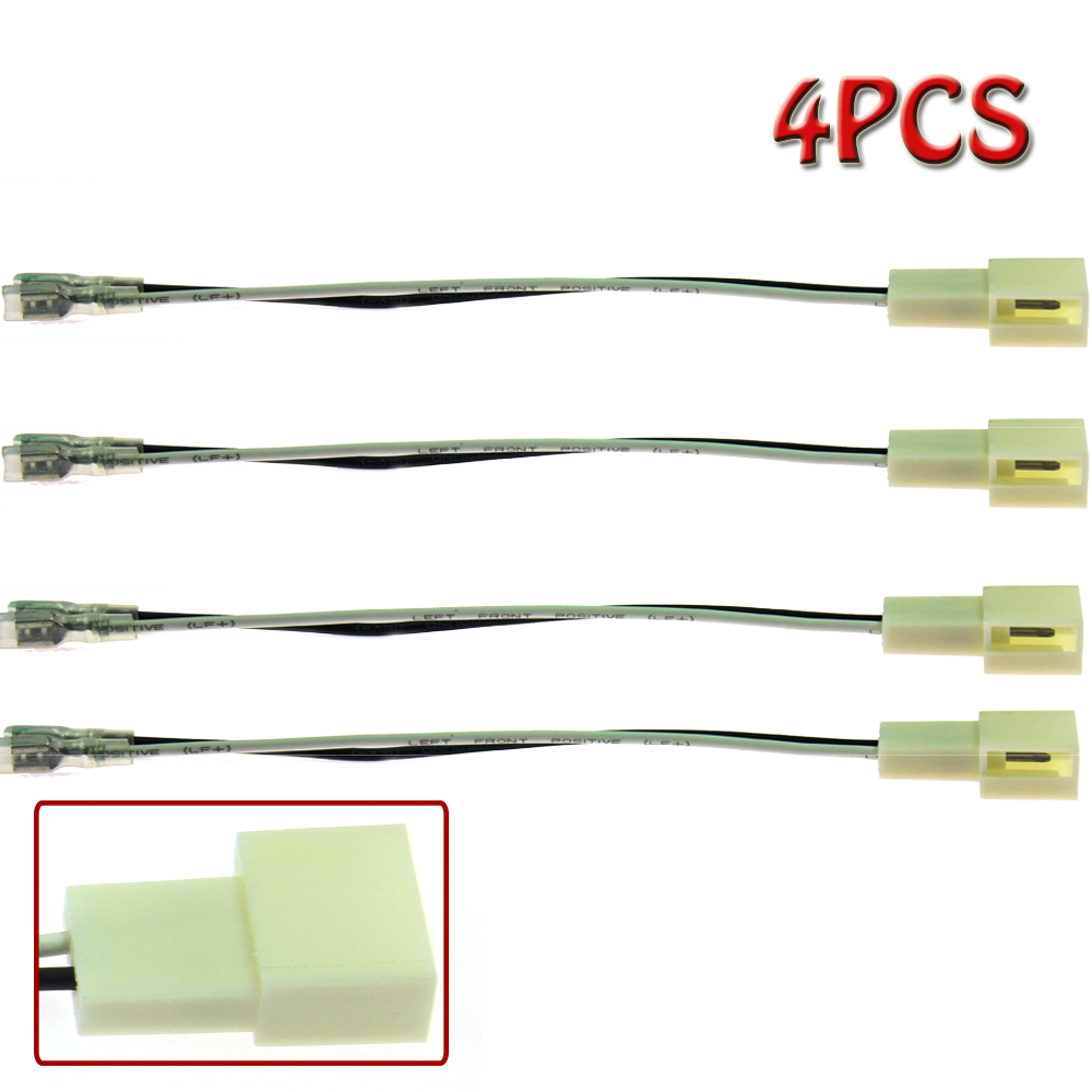 medium resolution of details about 4x car speaker connector wire harness adapter for toyota camry 2002 2006 us fast