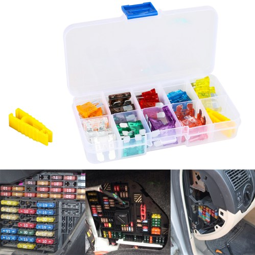 small resolution of details about 45x mini car atc fuse set assortment automotive boat replacement fuses kit tool