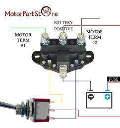 details about 12 volt winch motor contactor reversing solenoid contactor relay 6 terminal [ 1000 x 1000 Pixel ]