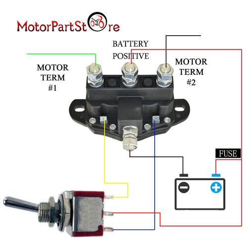 small resolution of details about 12 volt winch motor contactor reversing solenoid contactor relay 6 terminal