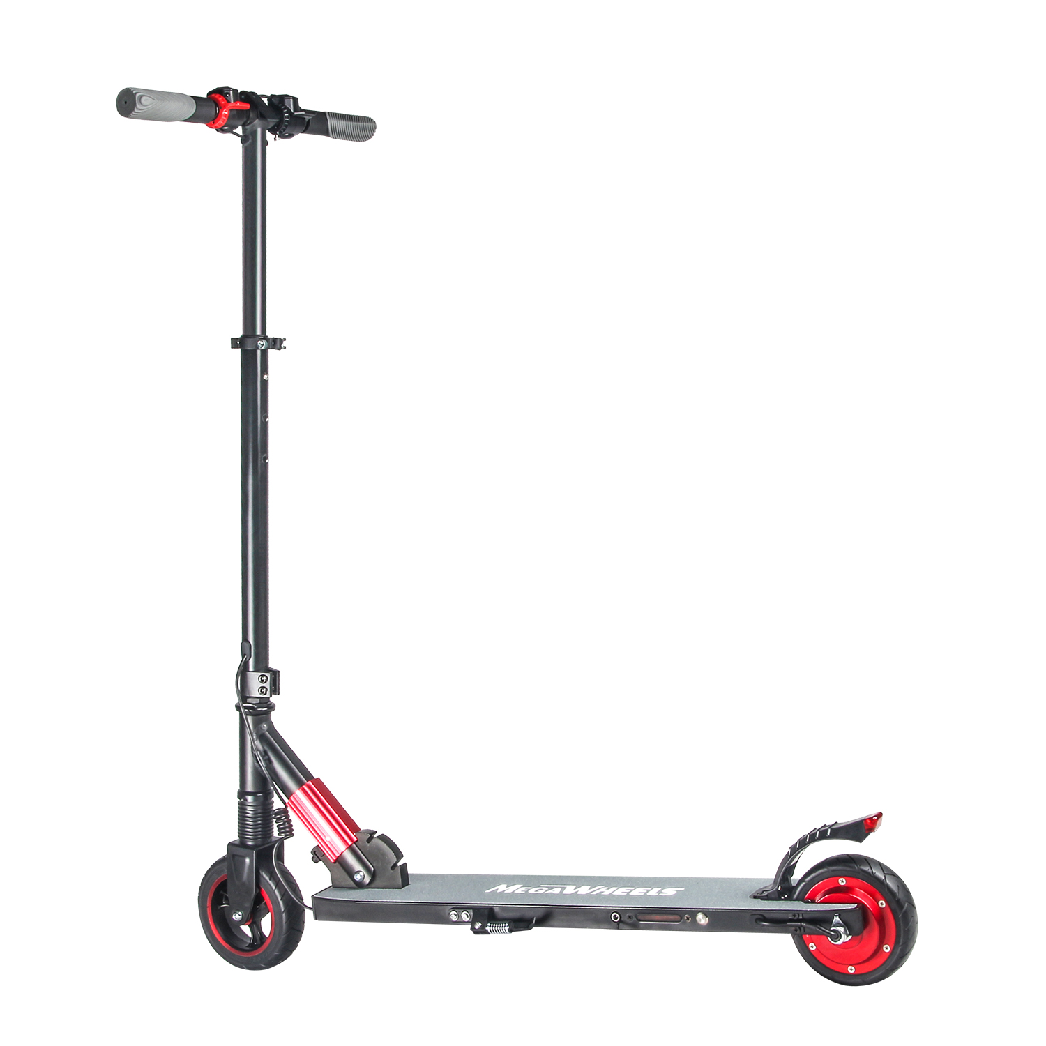Megawheels Teen S Foldable Electric Scooter 250w Aluminum Portable Red E Scooter